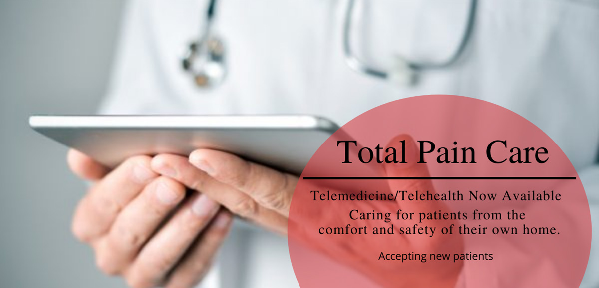 Total Pain Care banner